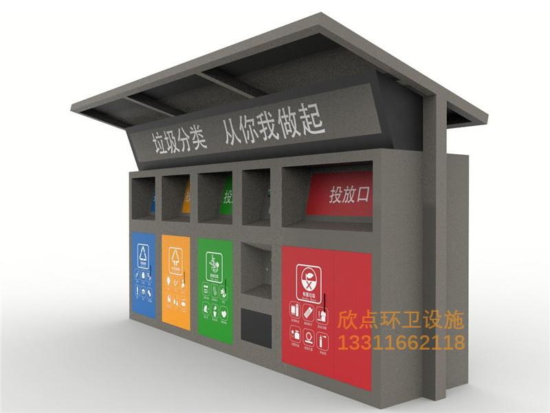 欣点垃圾分类房厂家分享垃圾房价格受哪些因素影响