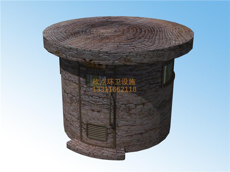 温州仿古造型环保厕所