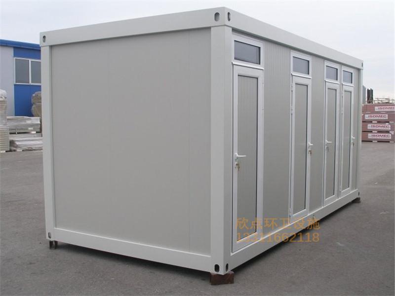 绍兴单双体简易厕所XDD-10
